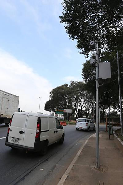 Radar na ponte das Bandeiras