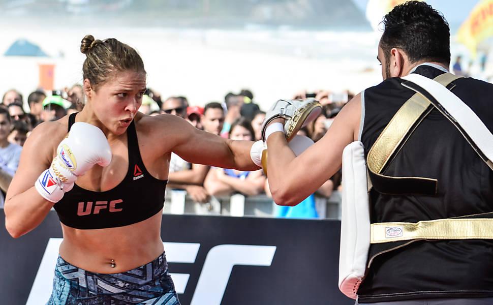 Isto é Ronda Rousey