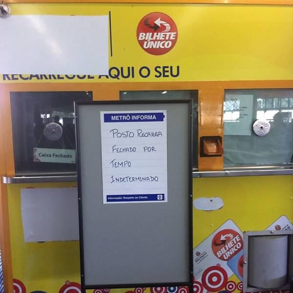 Cabines de recarga são fechadas em SP
