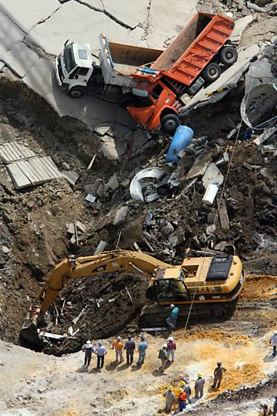 Acidente na construção da estação Pinheiros