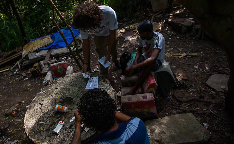 ONGs de redução de danos lutam para sobreviver