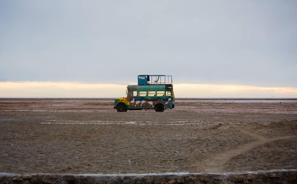 Salar de Uyuni, na Bolívia, e a reserva de lítio