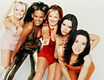 Cena do filme 'Spice World - O Mundo das Spice Girls'