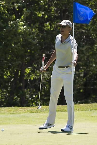 Férias de  Barack Obama