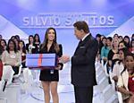 Patrícia Abravanel surpreende Silvio Santos no Dia dos Pais