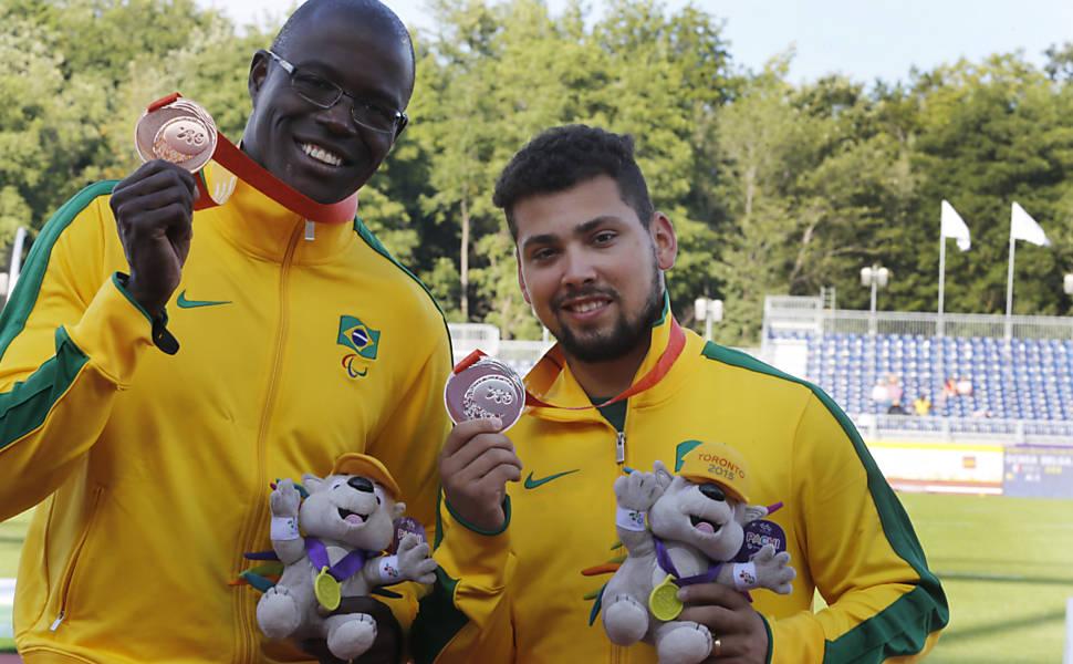 Medalhistas brasileiros no Parapan de Toronto