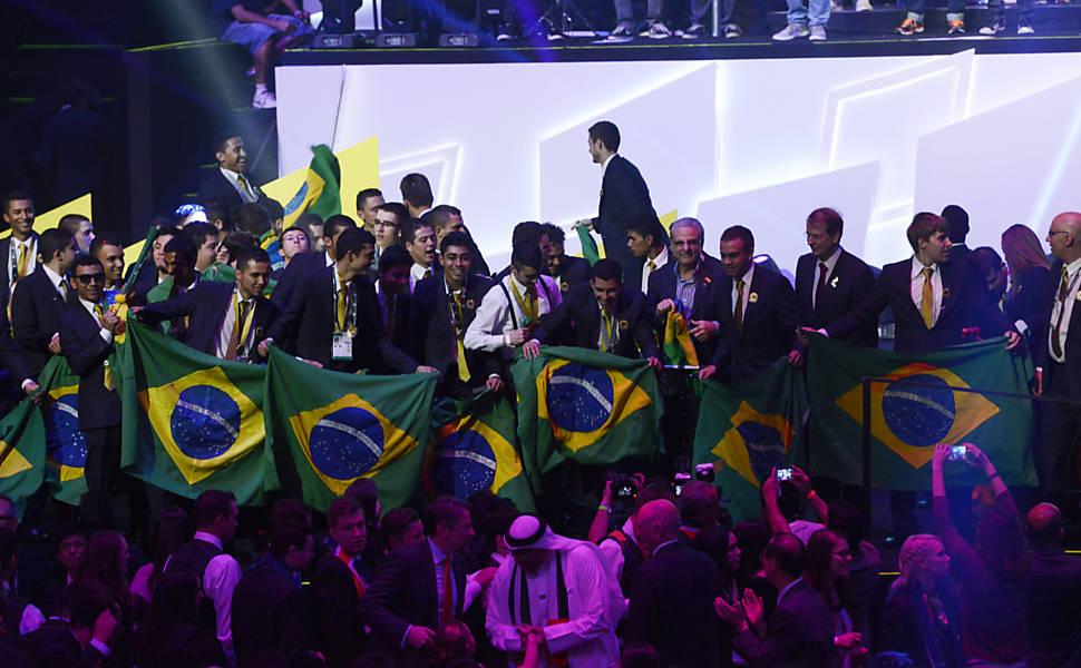 Cerimônia de premiação do WorldSkills 2015