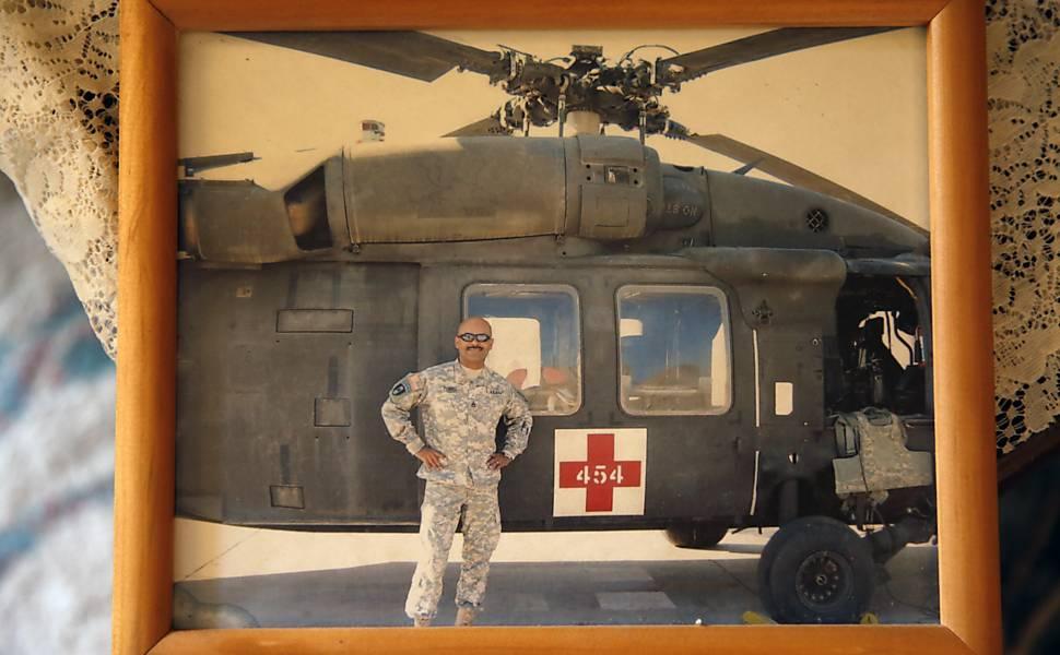 Sargento enfrenta lesão moral após guerra no Iraque