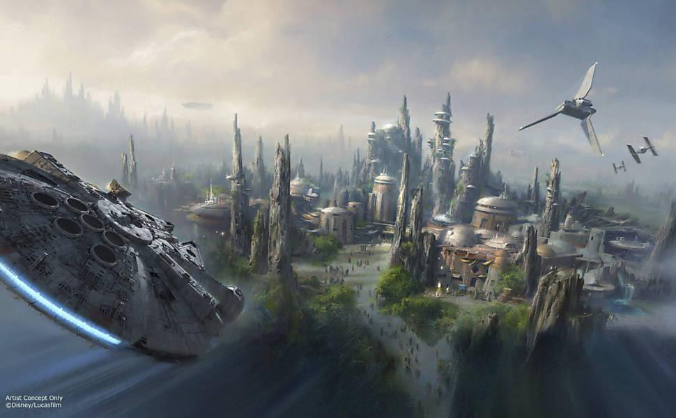 Galaxy's Edge, parques de 'Star Wars' na Disney