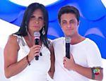 Gretchen e Thammy Miranda participam do programa da Eliana