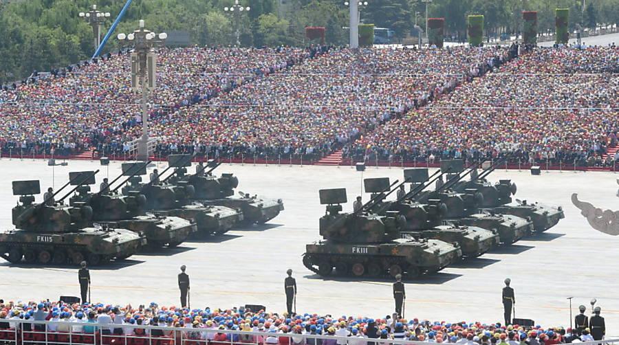 Desfile militar em Pequim