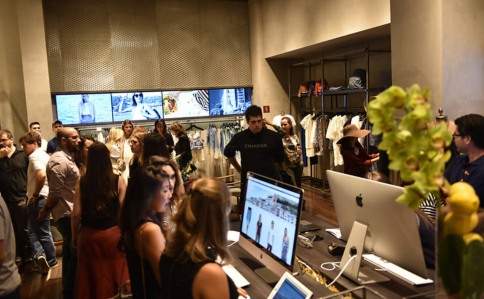 Marcas Virtuais em Shoppings