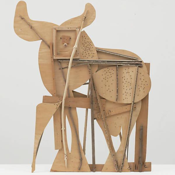 Algumas esculturas de Picasso que já foram expostas no MoMA