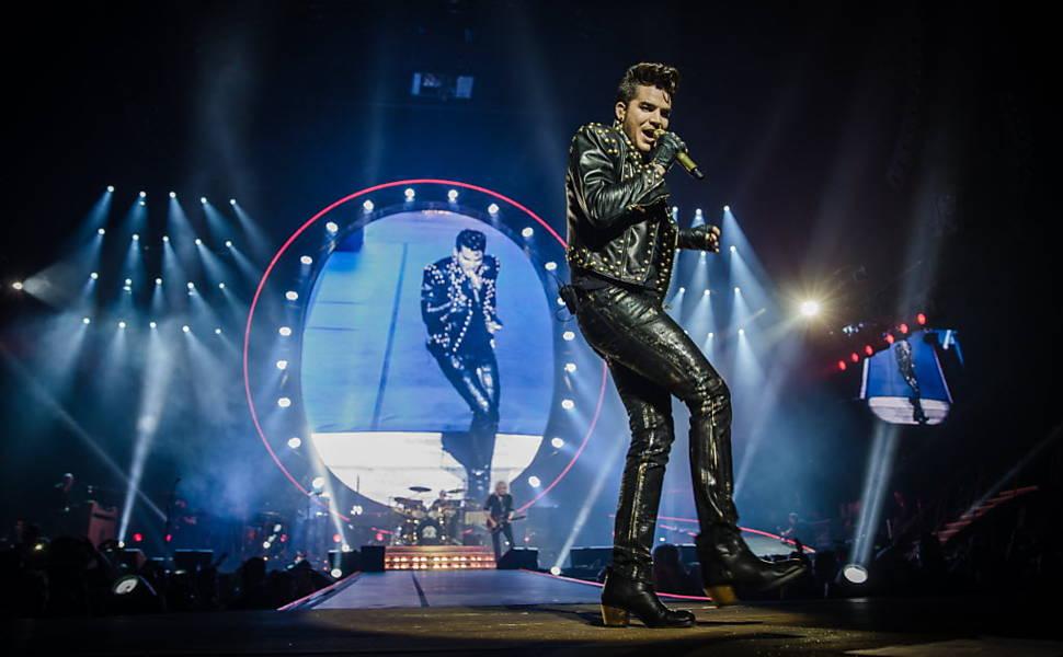 Show do Queen em São Paulo em 2015