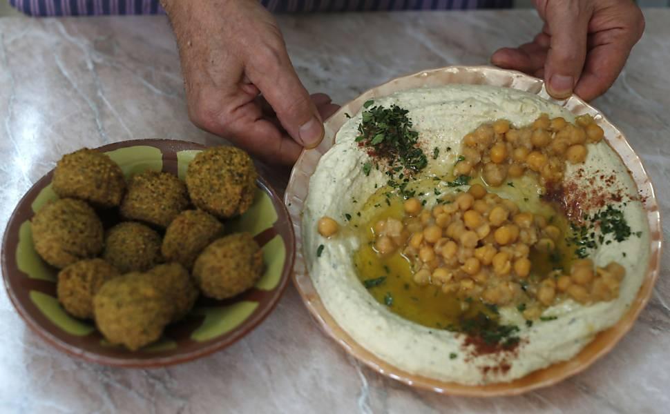 Cozinha típica da Palestina