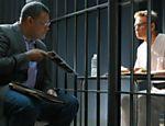 Televisão: os atores Laurence Fishburne e Bill Irwin contracenam em episódio da série CSI. (Foto: Divulgação) *** DIREITOS RESERVADOS. NÃO PUBLICAR SEM AUTORIZAÇÃO DO DETENTOR DOS DIREITOS AUTORAIS E DE IMAGEM ***