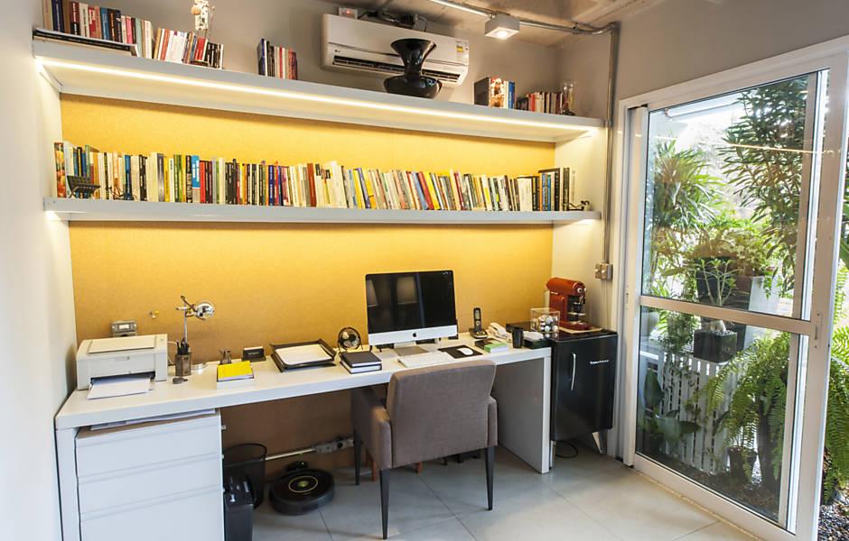 Veja projetos para montar seu escritório em casa