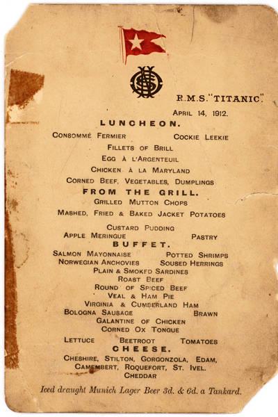 Fotos inéditas do Titanic