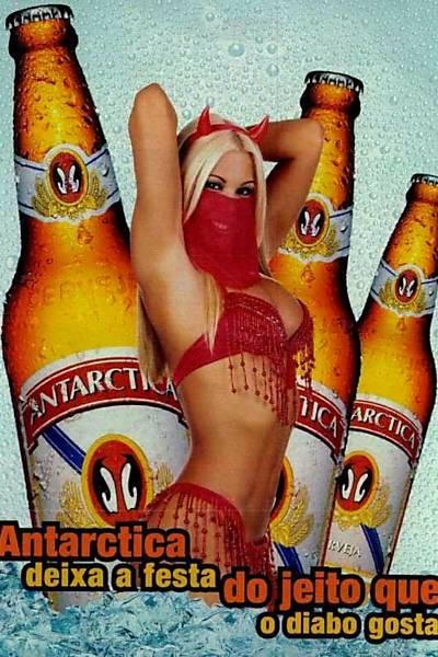 Machismo Gelado - Mulheres e comerciais de cerveja