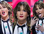Claudinha - fanfarrona - Leitte! Técnica diverte com caras e bocas nos bastidores do The Voice
