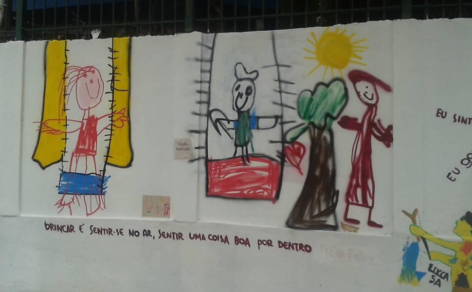 Pinturas no Glicério