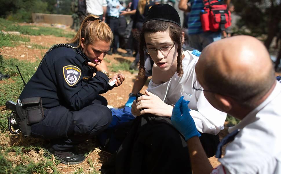 Tensão entre palestinos e israelenses