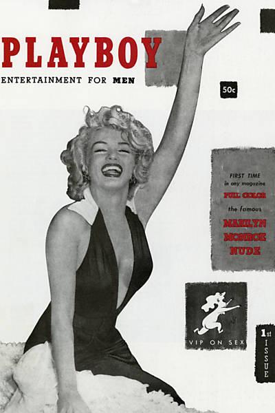 Capas hist�ricas da Playboy americana