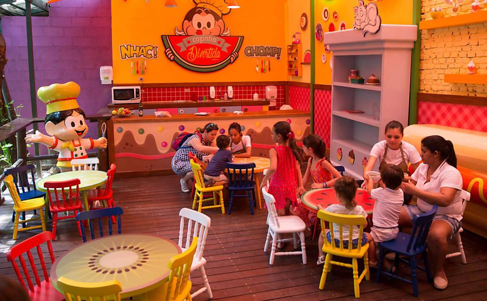 Restaurante Chácara Turma da Mônica
