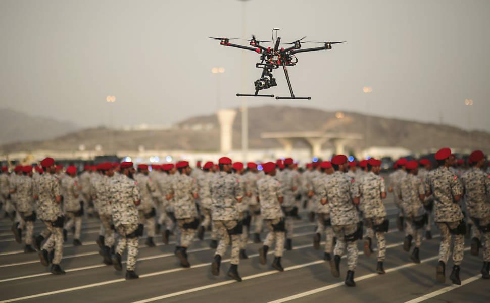 Tipos de drones e suas aplica��es
