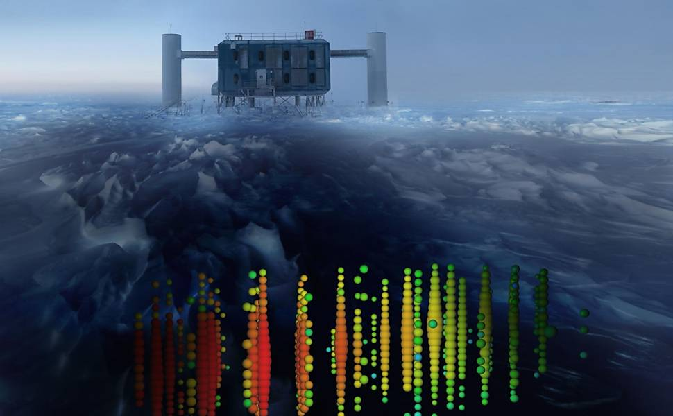 Observatório de Neutrinos no Gelo