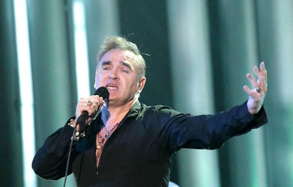 Morrissey em show especial para o prêmio Nobel da paz em Oslo, na Noruega