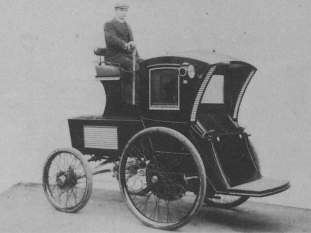 Evolução dos veículos elétricos