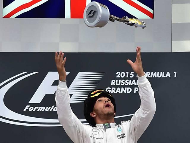 Isto é Lewis Hamilton