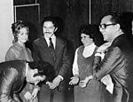 Em 1974, Lula casa-se com Marisa Letícia, com quem posteriormente teve quatro dos seus cinco filhos