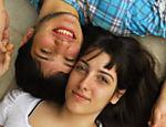 Clarice Falcão e Celio Porto que protagonizam vídeo vencedor de concurso internacional de curtas do YouTube, em 2007