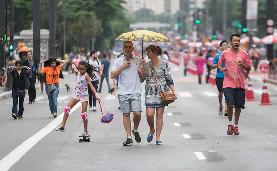 Avenida Paulista fechada para carros
