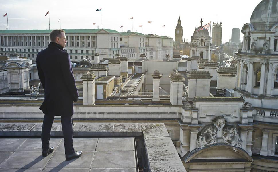 Londres é cenário de filmes