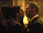 Monica Bellucci e Daniel Craig que vivem respectivamente Lucia Sciarra e James Bond no 24º filme da série,