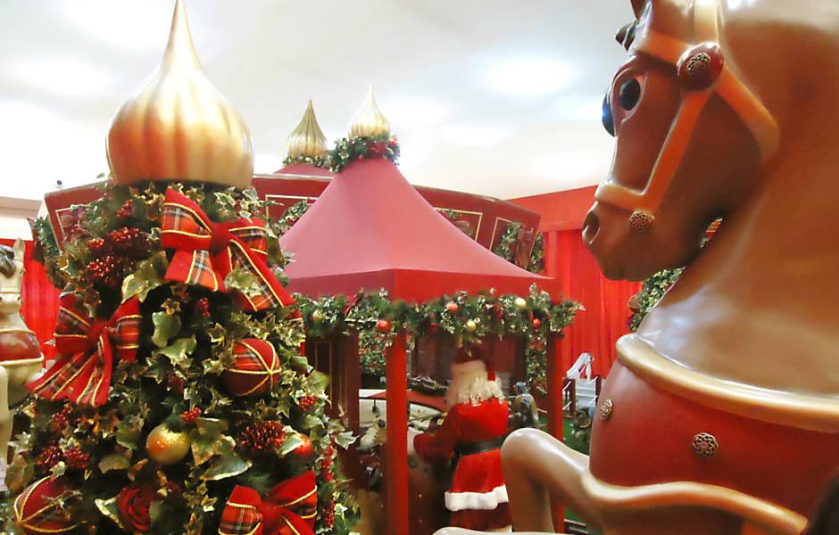 Natal nos shoppings