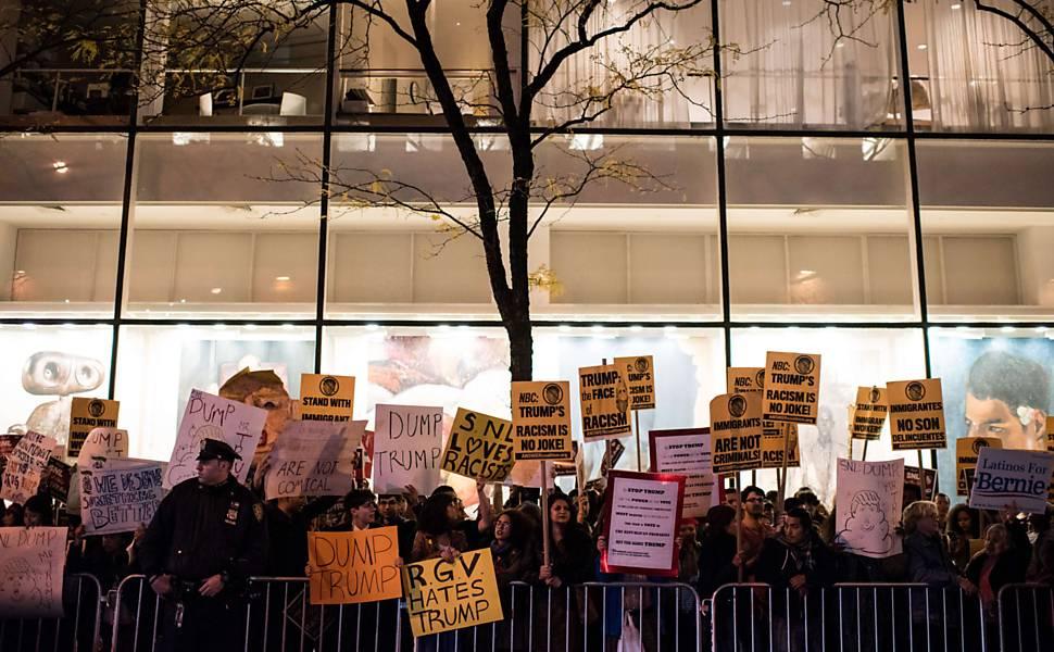 Protestos contra Trump