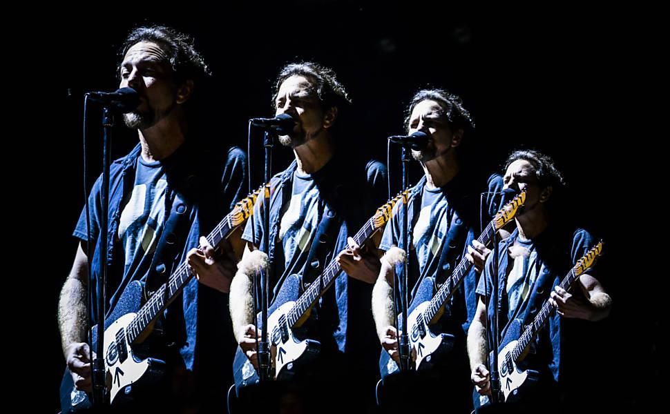 Show do Pearl Jam em São Paulo