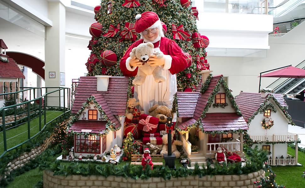 Papai Noel nos shoppings