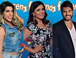 Ana Paula Minerato, Mara Maravilha e Marcelo Bimbi vão pra roça
