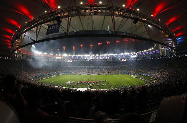 Estádio do Maracanã, no Rio, reformado pela Andrade Gutierrez; uma das obras da empreiteira