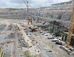 Construção da usina de Belo Monte; obras da Andrade Gutierrez envolveram o pagamento de propina