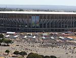 Estádio Mané Garrincha, em Brasília, reformado pela Andrade Gutierrez