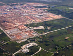 Complexo Petroquímico do Rio de Janeiro, com obras da Petrobras tocadas pela Andrade Gutierrez