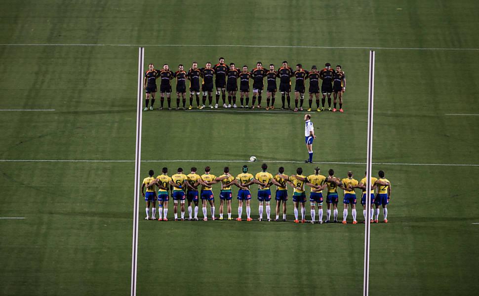 Brasil x Alemanha, rúgbi no Pacaembu