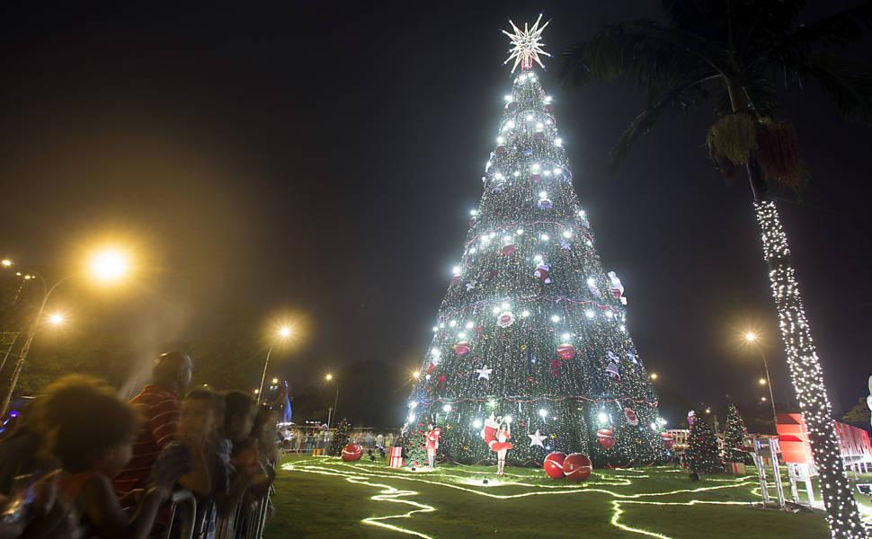 Decorações de Natal em São Paulo