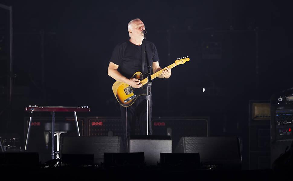 Show de David Gilmour em SP